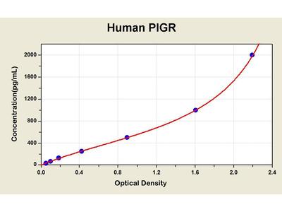 Polymeric Immunoglobulin Receptor/Membrane Secretory Component ELISA Kit