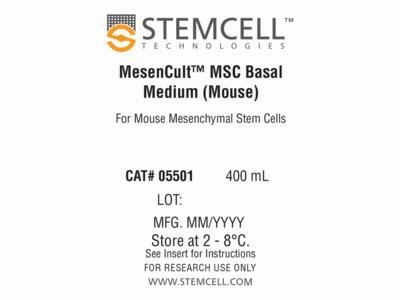 MesenCult™ MSC Basal Medium (Mouse)