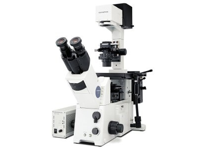 Inverted Microscope for Fluorescence Imaging from Olympus