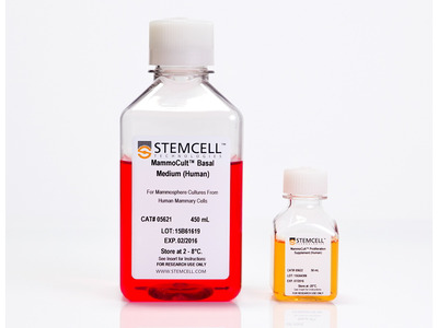 MammoCult™ Human Medium Kit from Stem Cell Technologies