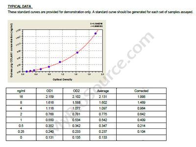 Guinea Pig Collagen alpha-1 (IV) chain, COL4A1 ELISA Kit