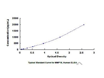 ELISA Kit for Matrix Metalloproteinase 19 (MMP19)