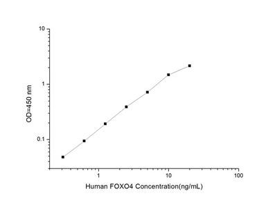 Human FOXO4 (Forkhead Box Protein O4) ELISA Kit