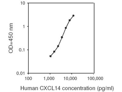 Human CXCL14 ELISA