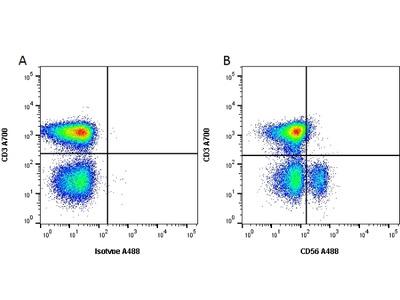 MOUSE ANTI HUMAN CD56:FITC