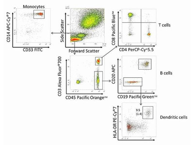 CD45 Monoclonal Antibody (HI30), Pacific Orange