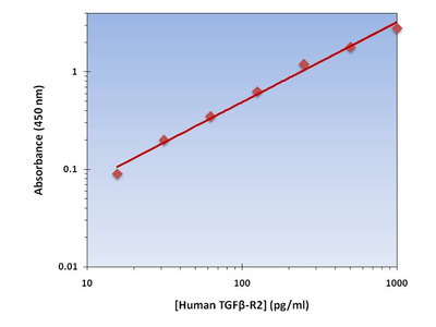 TGFB-R2 ELISA Kit (Human) : 96 Wells (OKAG00165)