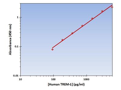 TREM-1 ELISA Kit (Human) : 96 Wells (OKAG00259)