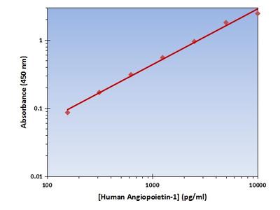 Angiopoietin-1 ELISA Kit (Human) : 96 Wells (OKAG00194)
