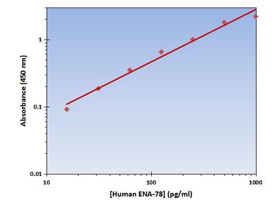ENA-78 ELISA Kit (Human) : 96 Wells (OKAG00218)