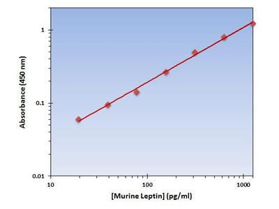 Leptin ELISA Kit (Mouse) : 96 Wells (OKAG00091)