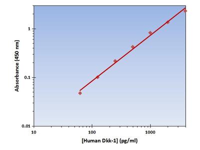 Dkk-1 ELISA Kit (Human) : 96 Wells (OKAG00221)