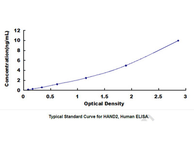ELISA Kit for Heart And Neural Crest Derivatives Expressed Protein 2 (HAND2)