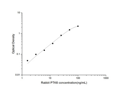 Rabbit PTK6 (Protein Tyrosine Kinase 6) ELISA Kit