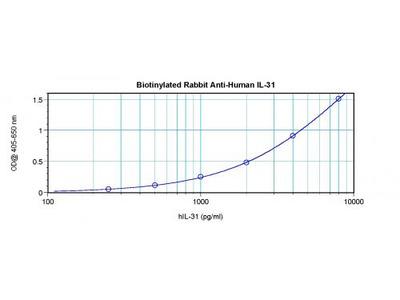 Biotinylated Anti-Human IL-31 Rabbit Polyclonal Antibody
