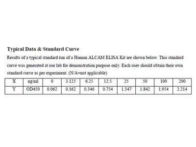 Human CD166 antigen ELISA Kit