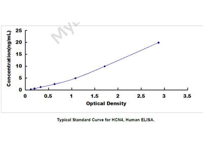 Hyperpolarization Activated Cyclic Nucleotide Gated Potassium Channel 4 (HCN4) ELISA Kit