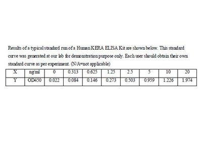 Human Keratocan ELISA Kit