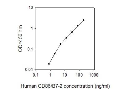 Human CD86/B7-2 ELISA