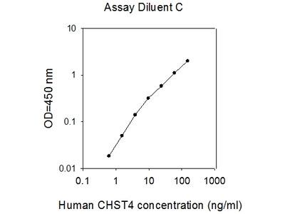 Human CHST4/GST-3 ELISA