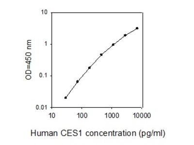 Human Carboxylesterase 1/CES1 ELISA